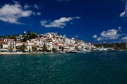Insula Skiathos, Grecia