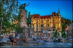 Ljubljana - capitala din Slovenia