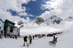 Stubai Glacier, Austria