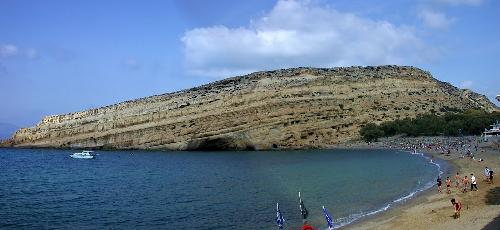 Plaja Matala, Creta