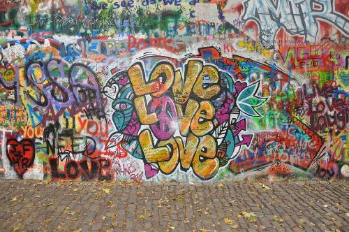 John Lennon Wall - Praga