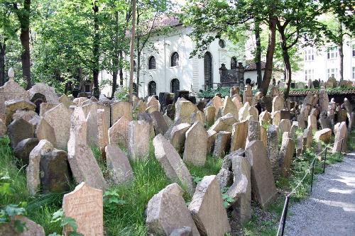 Vechiul cartier evreiesc Josefov din Praga