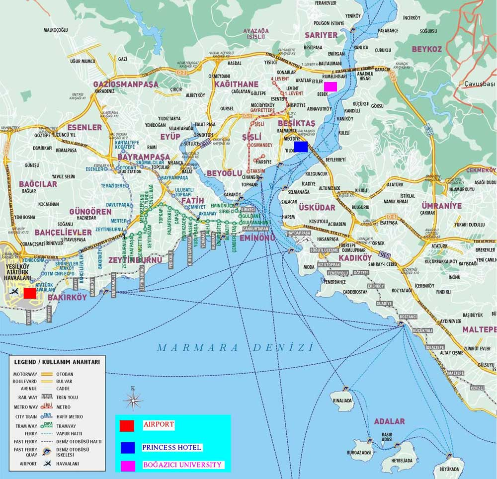 Harta Istanbul